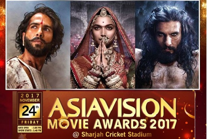 Asiavision Awards 2017, Padmavati