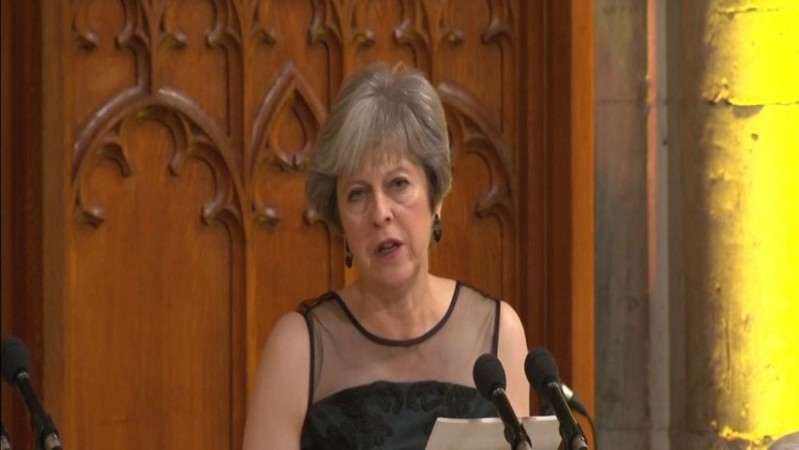 Theresa May accuses Putin of election meddling: We know what you are doing