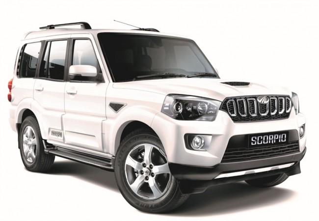 2017 Mahindra Scorpio facelift
