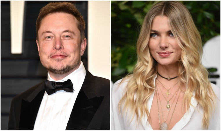 Elon Musk, Jessica Hart