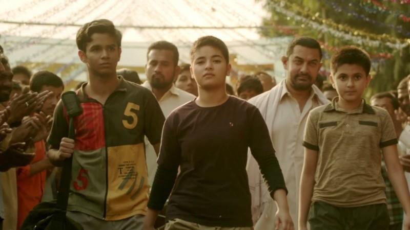 Zaira Wasim in Dangal