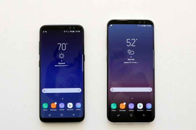 Samsung Galaxy S8 and S8