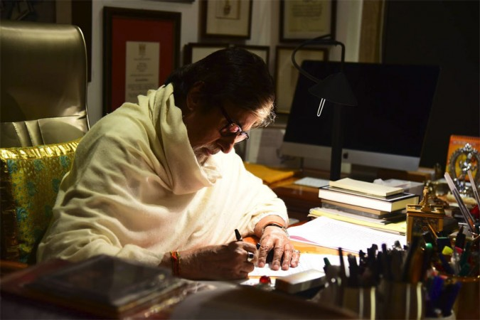 Amitabh Bachchan's letter to granddaughters