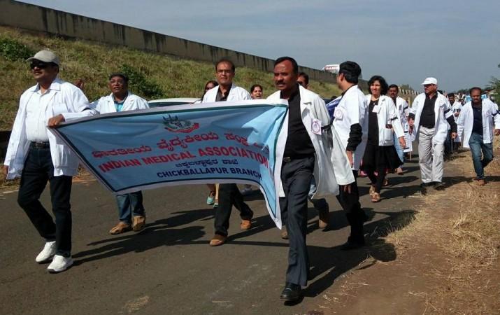doctors strike in karnataka