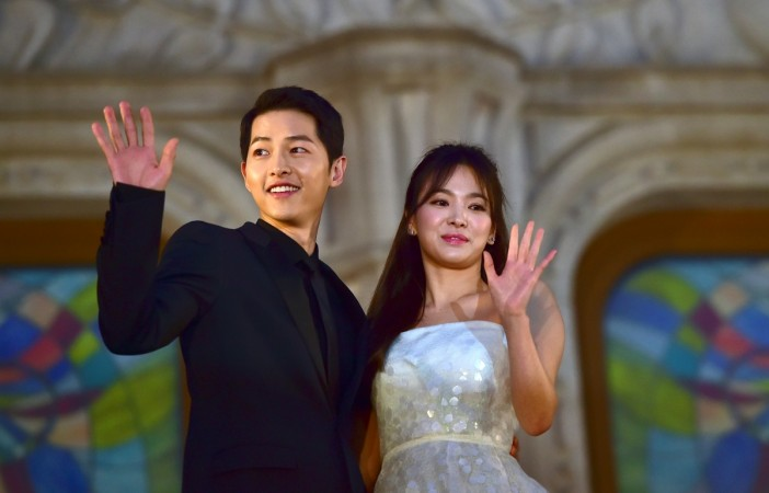 Song Joong Ki And Song Hye Kyo S Baby Descendants Of The Sun