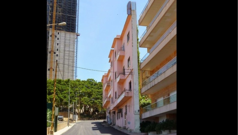 Spite house, Beirut