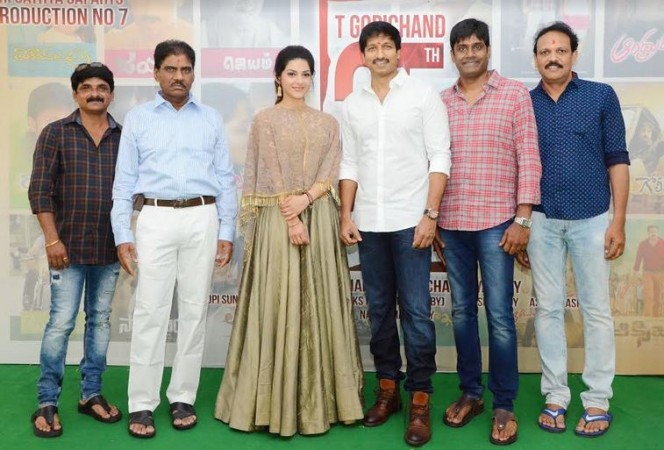 Gopichand's 25th film launch