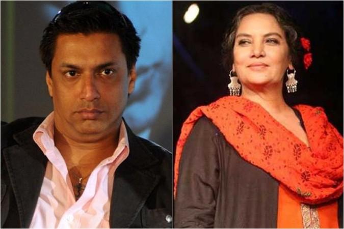 Madhur Bhandarkar and Shabana Azmi