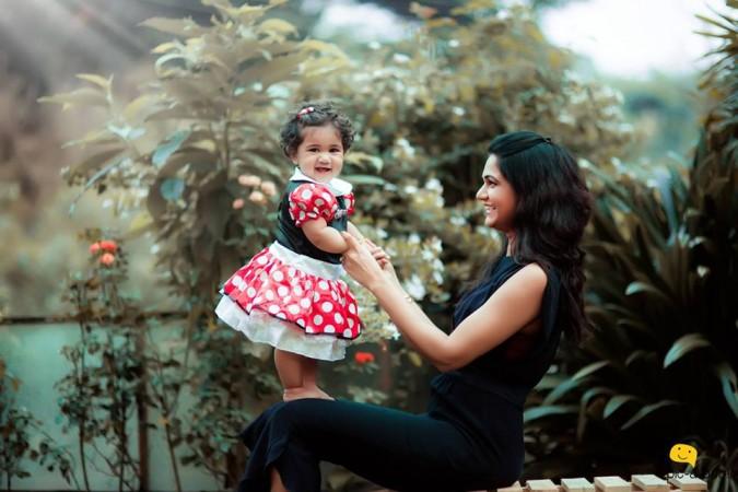 Allu Arjun's wife with daugher Arha