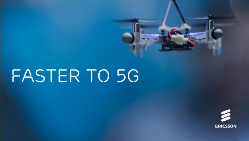 Ericsson 5G test in India