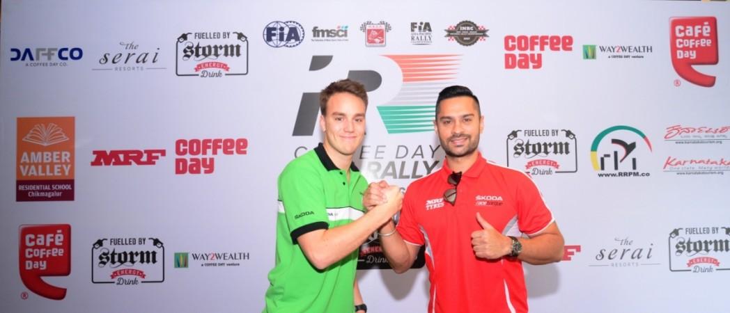 gaurav gill, Motorsports, team mrf
