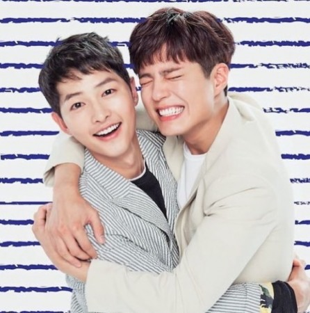 Song Joong K and Park Bo Gum