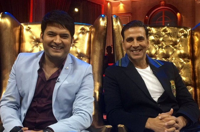 Kapil Sharma, Akshay Kumar on The Great Indian Laughter Challenge