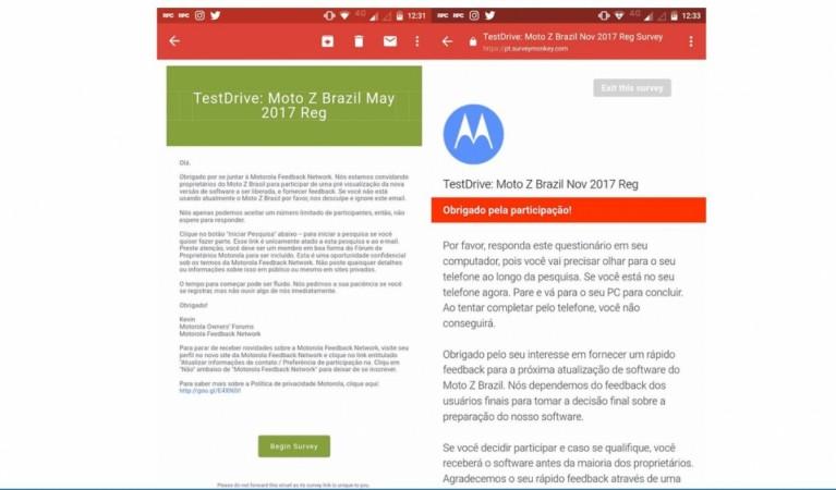 Motorola, Moto Z, Android Oreo, soak-test, Moto Z2 Force