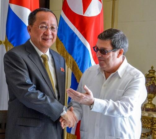 Cuba North Korea ministers