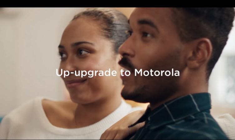 Motorola new advertisement