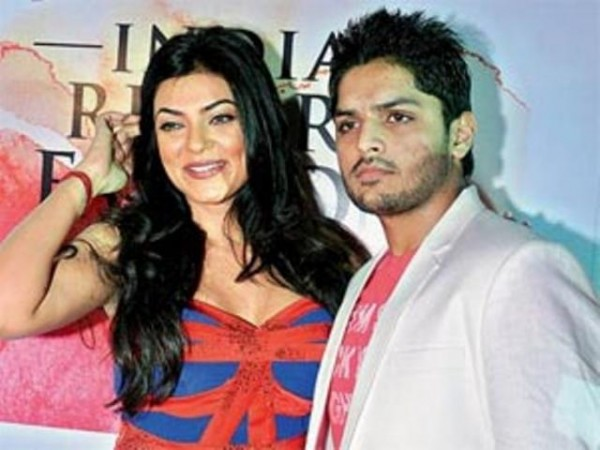 Sushmita Sen and Imtiaz Khatri