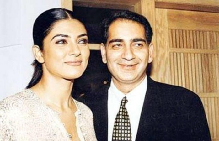 Sushmita Sen and Sanjay Narang