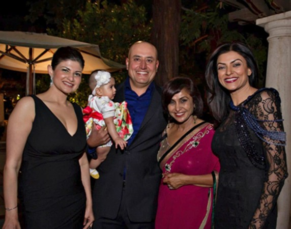 Sushmita Sen and Sabeer Bhatia