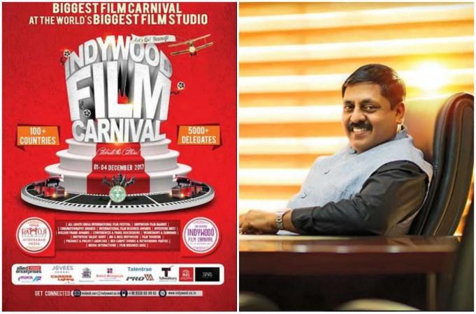 Indywood Film Carnival founder Sohan Roy