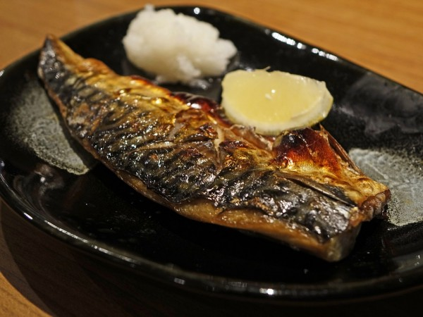 Mackerel, oily fish,