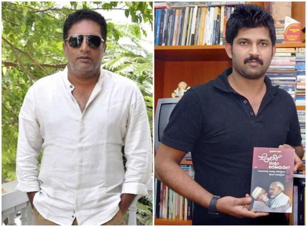 Prakash Raj and Pratap Simha