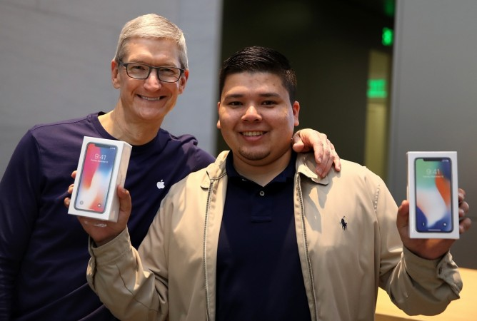 Apple's New iPhone X Goes On Sale In Stores