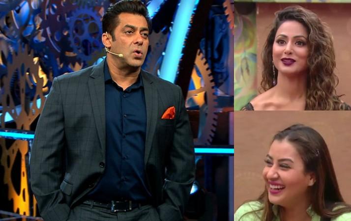 Salman Khan, Hina Khan, Shilpa Shinde