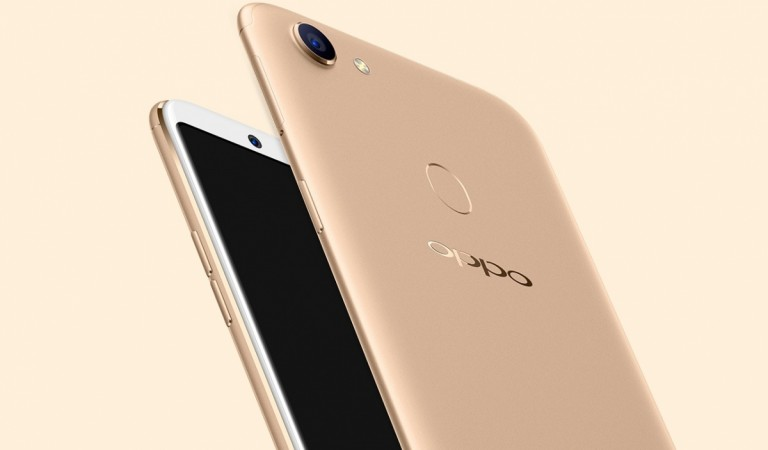 Oppo F5 as seen on its official website