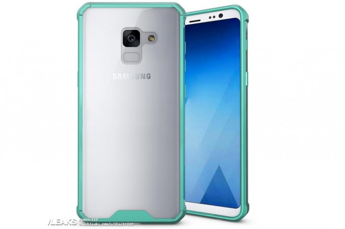 Samsung Galaxy A5 (2018) as seen on Slashleaks
