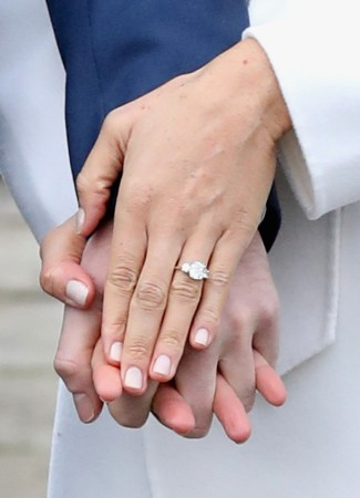 Prince Harry Meghan Markle engagement ring