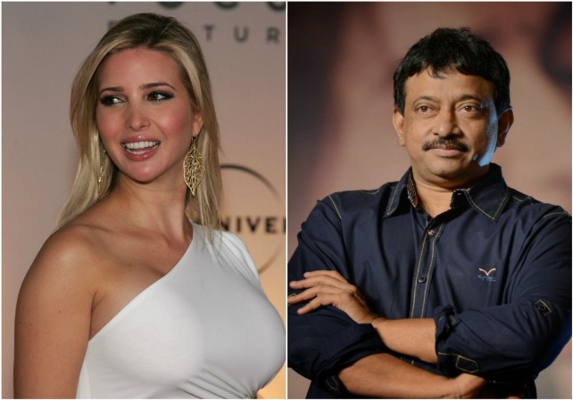 Ivanka Trump and Ram Gopal Varma