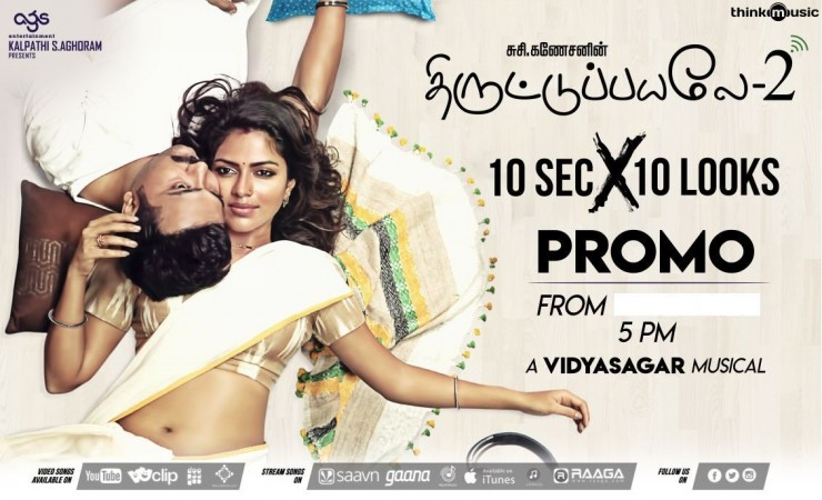 Amala Paul-Bobby Simha in Thiruttu Payale 2