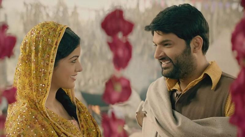 Ishita Dutta and Kapil Sharma in Firangi