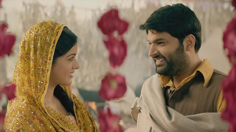 Ishita Dutta and Kapil Sharma in Firangi