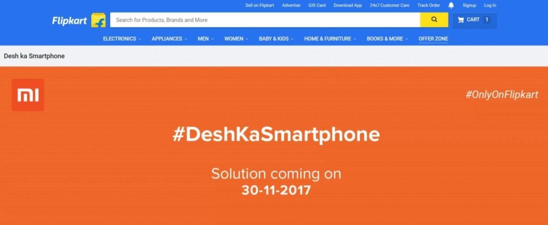 Xiaomi, Desh Ka Smartphone, Redmi 5A, teaser, India,launch