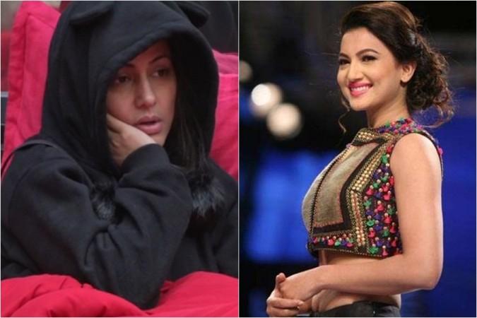Hina Khan and Gauahar Khan