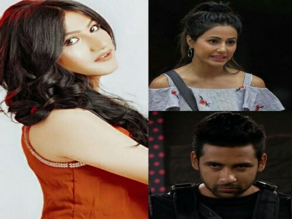 Mahika Sharma, Hina Khan and Puneesh Sharma