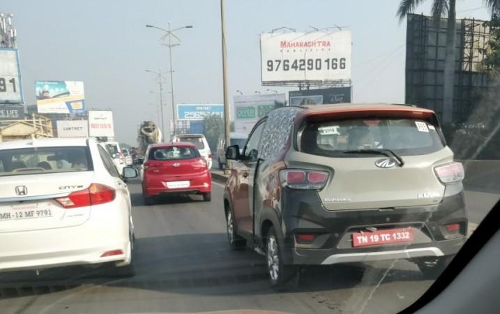 Mahindra KUV100 Electric, Mahindra KUV100 Electric spied