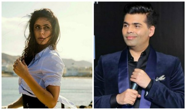Katrina Kaif and Karan Johar