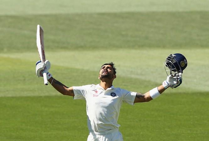 Virat Kohli Adelaide Test 2014