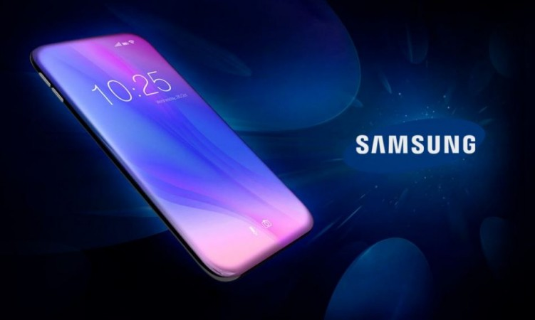 Samsung, bezel-less display, phone, zero-bezel phone,