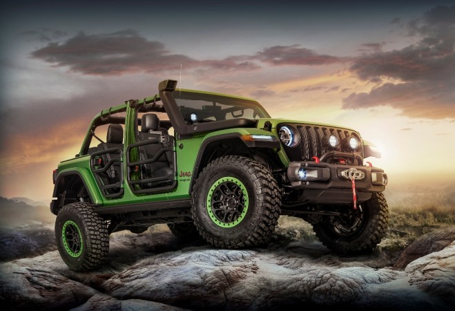 Customized 2018 Jeep Wrangler