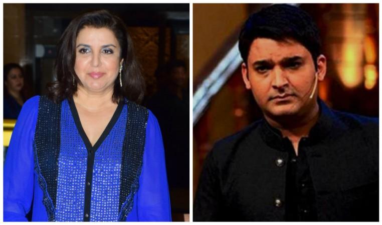 Farah Khan and Kapil Sharma