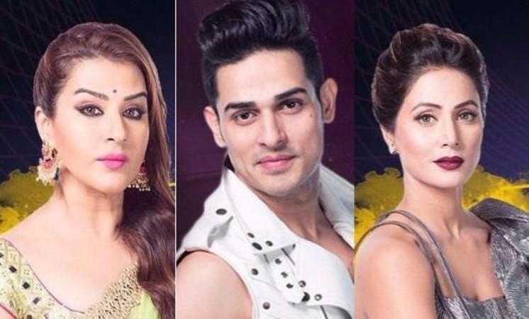 Shilpa Shinde, Priyank Sharma, Hina Khan