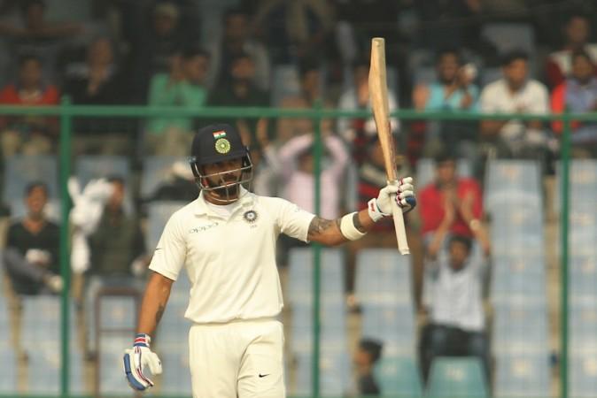 Virat Kohli Delhi Test