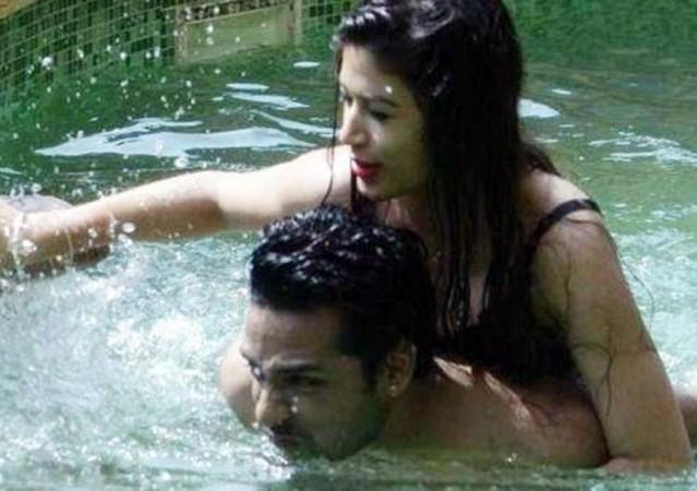 Bandgi Kalra and Puneesh Sharma's intimate moments in the Bigg Boss 11 house