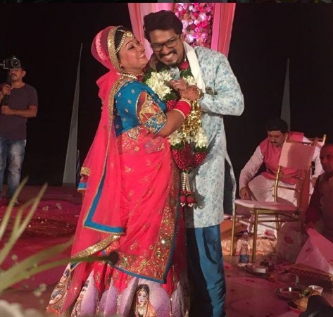 Bharti Singh and Haarsh Limbachiyaa wedding