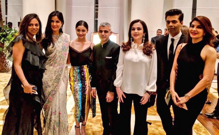 Bollywood biggies with London Mayor Sadiq Khan