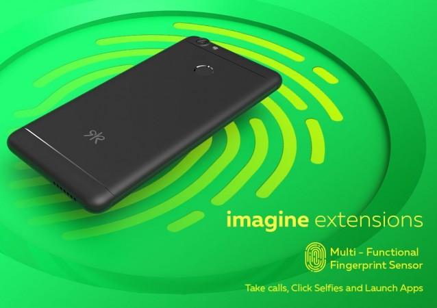 Kult Ambition 4G smartphone